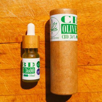 36% CBD olio di oliva